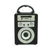 Hot-selling Wireless Speaker 800MAH Battery Wooden BT Speaker with Hand Hook Karaoke Function USB/AUX/TF card
