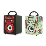 Karaoke Player Use High Poweres Rechargeable Party Speaker Super Bass Subwoofer Sound Portable Wireless Stereo