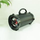 Portable Bazooka Outdoor Wireless BT Speaker with Power Battery and LED Light