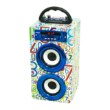 Portable mini with usb charger speakers mobile wooden speaker