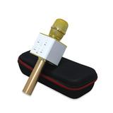Q7 New Wireless Karaoke Microphone USB Handle Mini Karaoke with TF Card Karaoke player