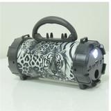 Wireless blue tooth 3 watt Mini portable Bazooka speaker with LED panel