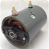 24V, DC Motor with brush for hydraulic and power units.2.2kw, 2.5kw