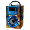 OEM High Quality  FM Mini Blue tooth Speaker Wireless Portable Wooden Speaker
