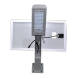 Manufacturer 30W Outdoor Road Lighting with Mesion Sensor Led Solar Power Street Fixture Light