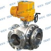 3 way ball valve, Industrial valve