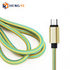 Hengye data charging cords braided usb 2.0 micro usb cable 2.4a