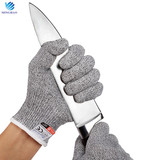 Cheap anti cut Level 5 cut resistant gloves for food processing