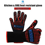 Wholesale Amazon hot selling aramid fiber silicone rubber heat resistant gloves for grilling