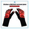 OEM& ODM BBQ Oven Working Safety Anti Slip Heat Resistant Gloves