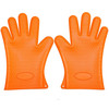 OEM&ODM  Heat resistant silicone kitchen cooking baking BBQ gloves grill oven mitts