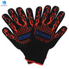 FREE SAMPLE EN407 Heat Resistant 932F Oven mitts Baking Cooking Grilling BBQ Gloves