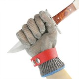 Factory price butcher protection 316L stainless steel wire mesh meat cutting gloves