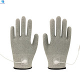 Magic hand electric vibrating massage gloves for health care industry