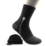 Premium Quality Silver Fiber TENS/EMS Conductive Massage Pulse Therapy Antibacterial Socks with OEM Services