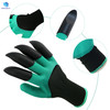 Custom Waterproof & Flexible garden genie gloves bear claw digging glove for ladies planting and raking