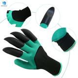 Custom Waterproof & Flexible garden genie gloves bear claw digging glove for ladies planting and raking