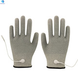 Wholesale price silver fiber physiotherapy pulse therapy conductive massage gloves