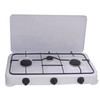 CE certificated outdoor use two burners gas stove