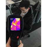 Handheld thermal imaging infrared thermometer camera