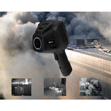 Handheld infrared thermometer for fire