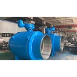 high quality full bore structure fully gear worm wcb welded subsea ball valve weight