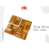 High quality Teak Wood Interlocking Deck Tile