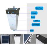high illumination  integrated solar wall light