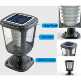 elegant integrated solar garden light