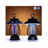 solar mosquito killer lamp indoor and outdoor