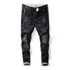 Good quality man's stretchable fashion slim fit denim jeans trousers
