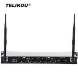 TELIKOU MDS-240 for 8 Users Long Range Full-Duplex wireless intercom system