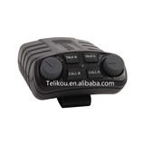 TELIKOU BK-102 Dual channel Belt pack Clear-Com standard XLR-7 for studio, TV station, ENG, EFP Broadcast Intercom System