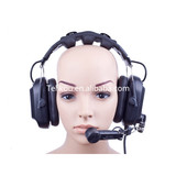 2019 Telikou HD-202 dual ear headset broadcast equipment