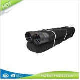 """Plastic Slotted Flexible Hose with Fabric Sock 100mm (4"""") X 50'"""
