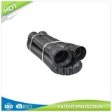 Perforated corrugated Expandable Flexible Landscape Drain Pipe, 4-Inch by 12-Feet