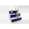 Customized Design Counter Acrylic Wine Display Stand With Light