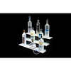 Counter Custom Acrylic Wine Display Stand With Light