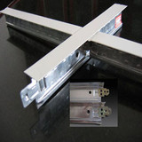 false ceiling grids main tee cross tee angle