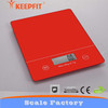 tempered glass platform digital kitchen scale 5kg/1g