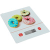 tempered glass platform digital kitchen scale food scale