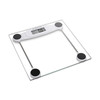 KF305 Electronic  bathroom scale body scale transparent glass