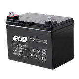 12v35ah deeep cycle AGM ups storage battery for fire and security system