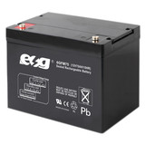 12V75AH deep cycle Lead acid battery for surveillance cameras