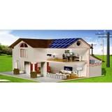Hybrid Off Grid Solar System 5000w solar panel system Home hot sales in UK