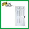 Steel panel door