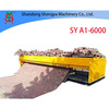 SY6-400, SY5-400, SY4-400, SY3-400 Tiger stone machine; interlocking paving bricks laying machine, interlocking bricks paver machine, pavement blocks paving machine