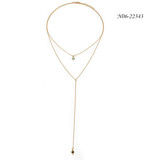 Chain Necklace N06-22343  2019 New Chain Necklace, Simple Style Necklace, Necklace on Sale