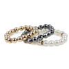 Handmade Beaded HC06-13302  Plastic Beaded  Bracelet,  Glass Bracelet, OEM Bracelet