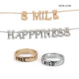 Chain HC06-12388  wholesale bangle cuff set  cubic zirconia bracelets